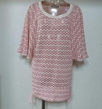 セシルマクビー★かぎ編み サマーニット チュニック