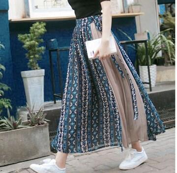 大人女子のトレンド とろみロングスカート