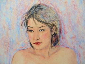 「裸婦118夏のおわり」の限定版画、エディ、直筆サインあり