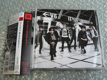 V6『バリバリBUDDY!』初回限定盤B【ブリアナ盤】CD+DVD/他に出品