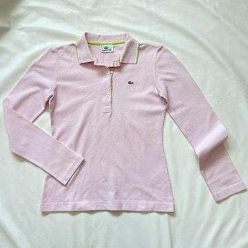 ラコステLACOSTE 長袖ポロシャツ ピンク #38