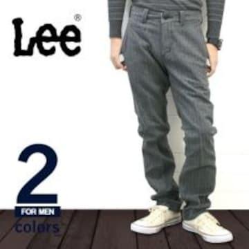 Leesures*Lee*アイビースラックスw76.グレー