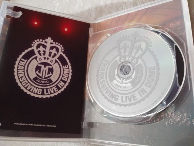 *☆JYJ☆THANKSGIVING LIVE IN DOME DVD♪ < タレントグッズの