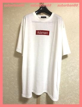 CHIP CLIP☆新品☆プレートロゴオーバーサイズTシャツワンピL