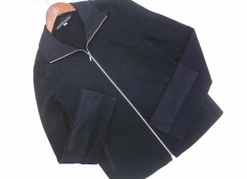 MICHEL KLEIN ミッシェルクラン ジップアップジャケット 黒色