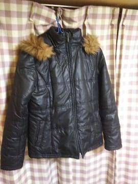 ★Aller Bien オシャレデザイン ダウンタイプ ジャンバー ジャケット サイズ9AR 黒★