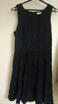 AG(aquagirl)紺色ジャンパースカート◆クラロリ/ゴスロリにも◆23日迄出品即決
