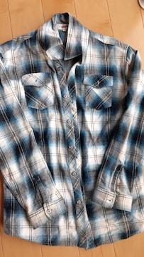 チェックシャツ 150cm