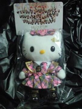 AKB48 ハローキティ コラボ ぬいぐるみ バックチャーム 携帯ストラップ ピンク チームA