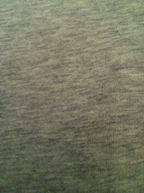 Sサイズ〜*汗ジミ防止・前後襟ぐり大きめ・オフショル・フレンチ袖インナーグレー杢 < 女性ファッションの