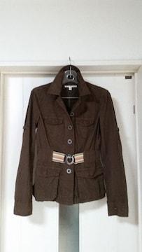 未使用  トミーヒルフィガー ウエストゴム入り シャツジャケット レディース XS
