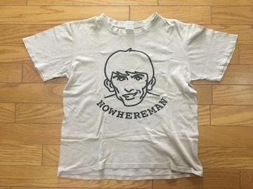 中古ナンバーナインTシャツ3NOWHEREMANベージュ