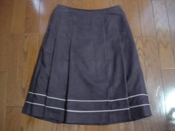 ★anysis エニィシィス スゥエード風デザインスカート