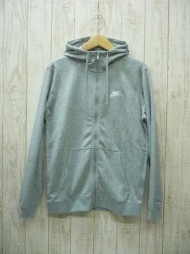 即決☆ナイキ スウェット ジャケット+カフパンツ GRY/L 上下セット 新品