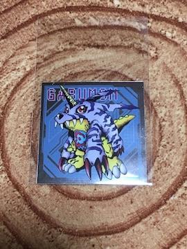 デジモンアドベンチャー 紋章グミ シール 02 ガブモン