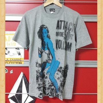 VOLCOM ボルコム Tシャツ サーフィン 50 レア!! Kj S