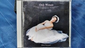 中森明菜 Only Woman ベストオブラブソング