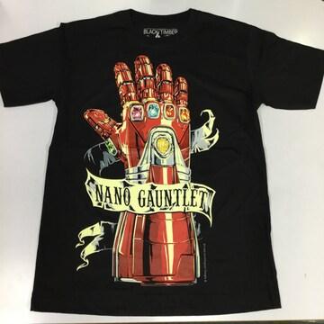 デザインTシャツ Mサイズ ナノガントレット アベンジャーズ
