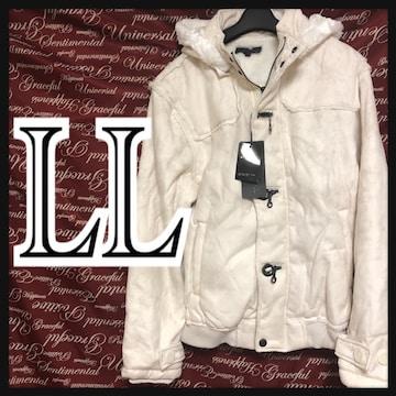 LL【intheattic】ファーコート新品/MCfu-010