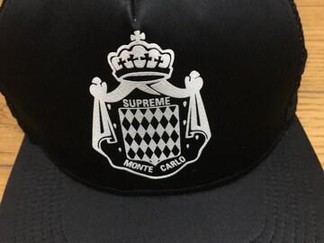 中古SUPREME×STARTERコラボ帽子キャップ黒フリー