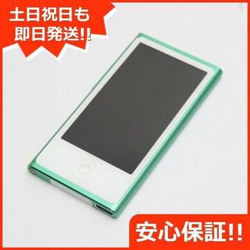 ●安心保証●美品●iPod nano 第7世代 16GB グリーン●
