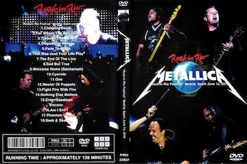 ≪送料無料≫METALLICA ROCK IN RIO SPAIN 2010 メタリカ 最新!