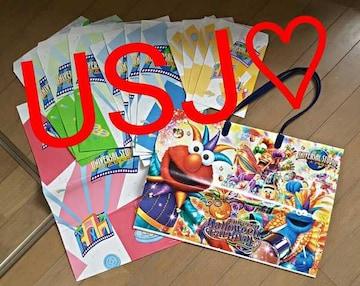【USJ★ショップ袋】#ユニバーサル#エルモ#大阪#バッグ#ビニール