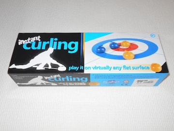 コンパクトカーリング instant curling ミニカーリングセット