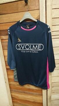 SVOLME スボルメ プラクティスシャツ プラシャツ 8分袖 L