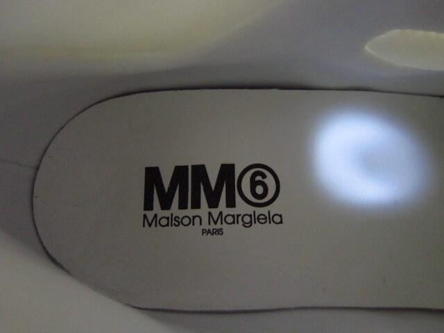 MM6 ハイトップ パデッド ランナー ダットシューズ スニーカー < ブランドの