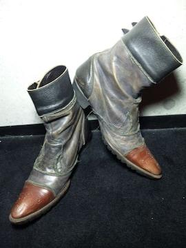 アルフレッドバニスター〓ブーツ靴〓42/ブラウン〓シューズ