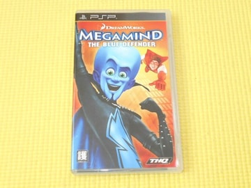 PSP★MEGAMIND THE BLUE DEFENDER
