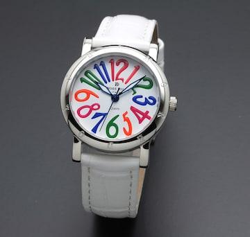 アモーレドルチェ レディース腕時計AD18303-SSWHCL