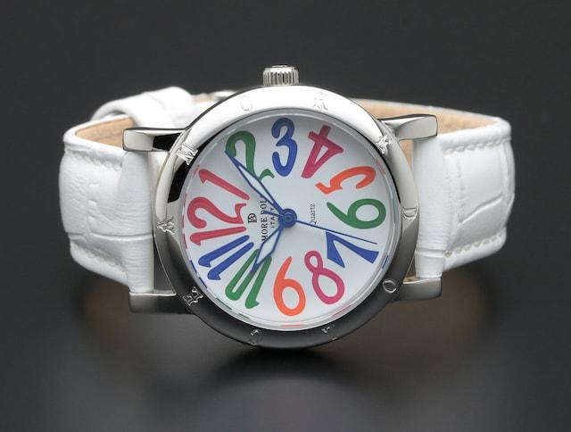 アモーレドルチェ レディース腕時計AD18303-SSWHCL < 女性アクセサリー/時計の
