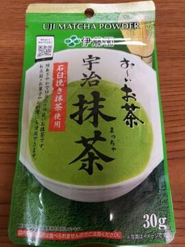 伊藤園 お〜いお茶 宇治抹茶30g