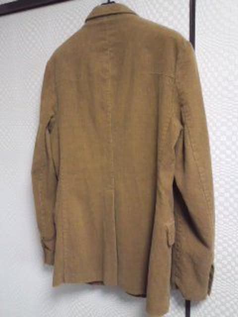 SCOTCHコーデュロイジャケット美品 < 男性ファッションの