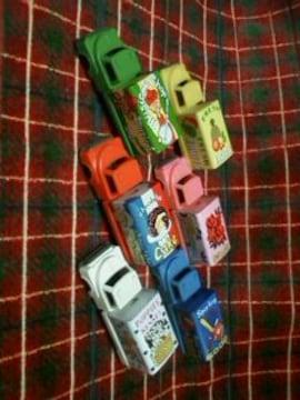 ☆当時物☆ブリキとプラの車☆6台セット☆MADE IN JAPAN☆