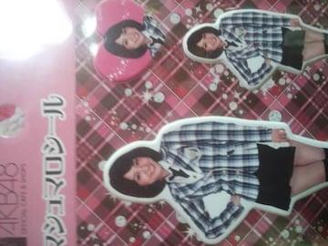 AKBチームサプライズ大島優子マシュマロシール新品未使用