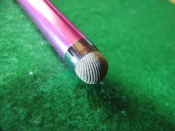 送料無料★耐久性重視★スマホタッチペン★メタピンク★新品