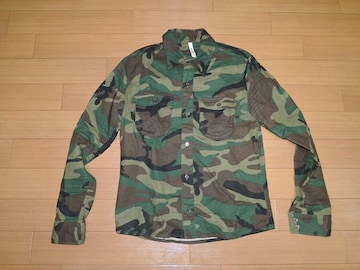 Glambグラム迷彩シャツ1長袖