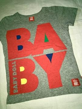 #BABY DOLL#前後デカロゴTシャツ120 ベビードール