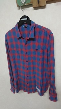 LUKER BY NEIGHBORHOOD ネイバーフッド チェックネルシャツ M
