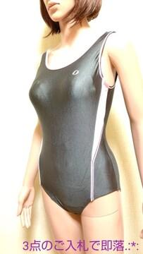 極美品☆ジャパーナ☆光沢つる�Aネオン競泳水着4712☆3点で即落