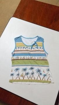 夏イラストのTシャツ