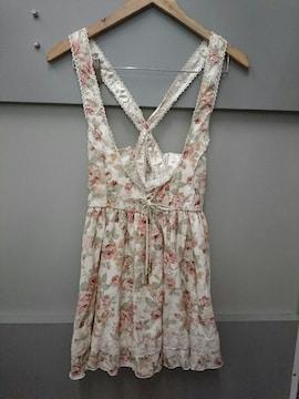 LIZ LISA☆淡い花柄ジャンスカ