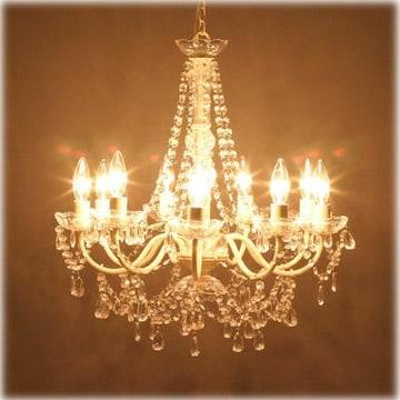 豪華絢爛 9灯シャンデリア 天井照明 ヨーロピアンテイスト
