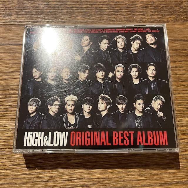 【HiGH & LOW ~ORIGINAL BEST ALBUM~】  < タレントグッズの