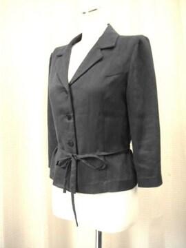【moni】黒のストレッチジャケットです