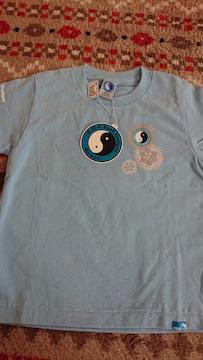 *新品☆100�p・タウカン 水色半袖Tシャツ*