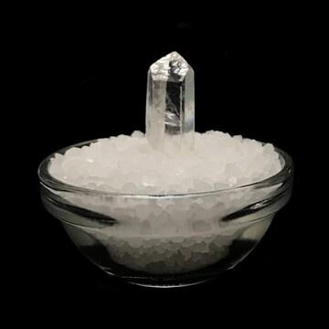 【おまかせ品】 ヒマラヤ岩塩 ヒマラヤ水晶 浄化セット(ガラス